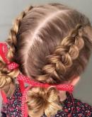 'Прически в детский сад: оригинальные идеи и новинки