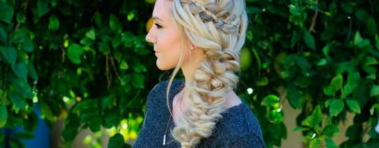 'Прически из кос: простые и очень красивые (фото, видео)