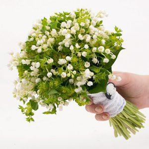 Букет невесты: весенний