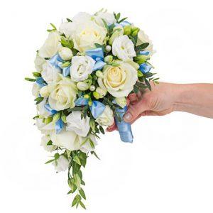 Букет невесты: Голубая мечта
