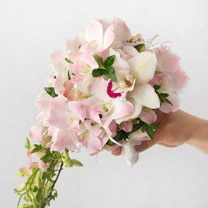 Букет невесты: Дикая орхидея
