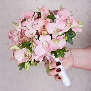 Букет невесты: Чувственные орхидеи