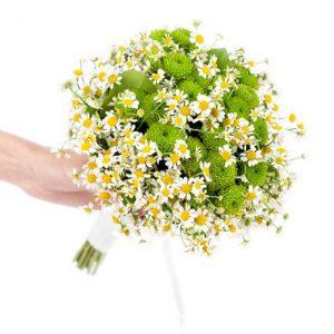 Букет невесты: Полевые цветы