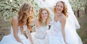 Свадебная мода 2015: платья, прически, букеты