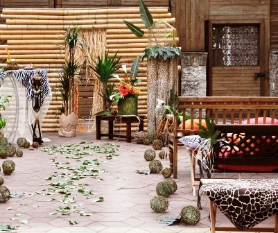 Свадьба в африканском стиле