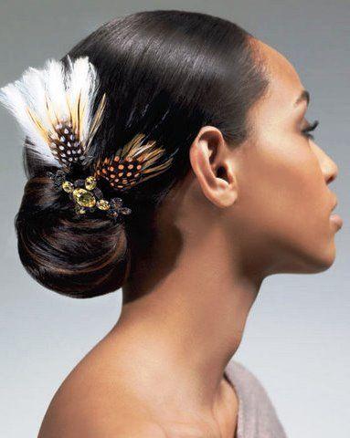 Африканская свадебная прическа