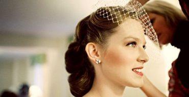 Свадебные прически в стиле винтаж, ретро, Голливуд