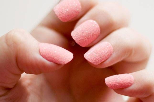 Модный маникюр 2015: sugar-nails