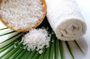 ванна с солью Мертвого моря