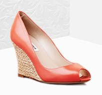 модная обувь весна 2015: туфли на танкетке