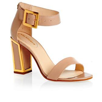 модная обувь весна 2015: туфли на устойчивом каблуке