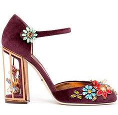 модная обувь весна 2015: туфли