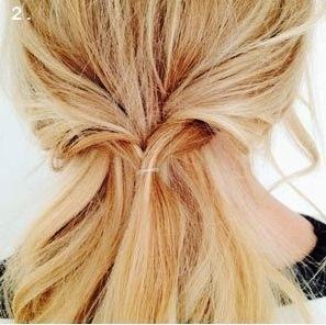 Повседневная прическа: цветок из косы
