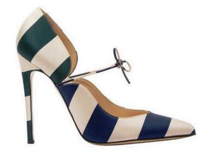 модная обувь весна 2015: туфли на шпильке