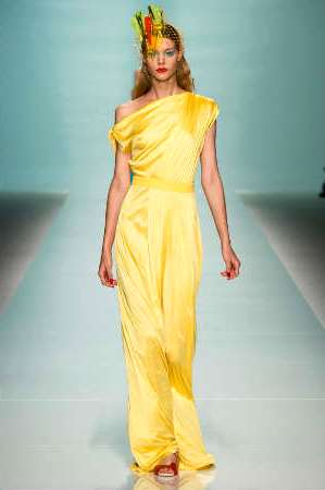 Модные цвета 2015: желтый