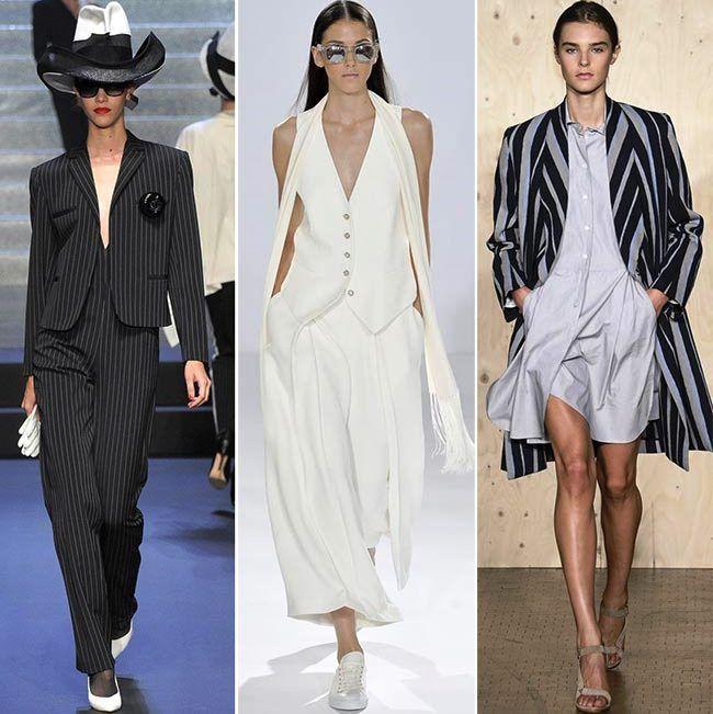Модные тенденции (тренды) весна / лето 2015: мужское влияние