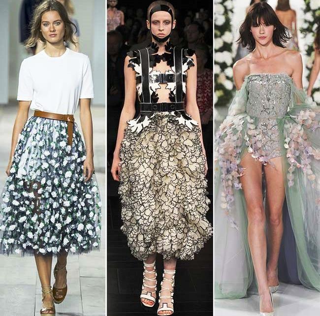 Модные тенденции (тренды) весна / лето 2015: 3D текстуры