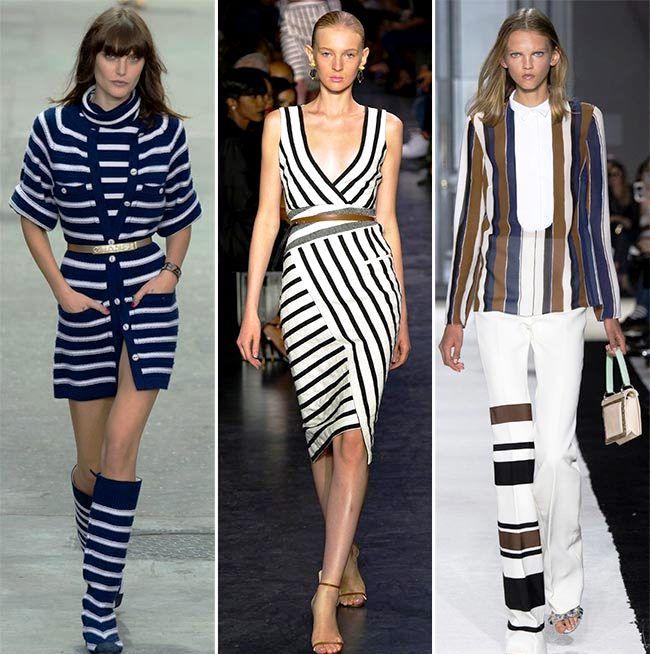 Модные тенденции (тренды) весна / лето 2015: полоски