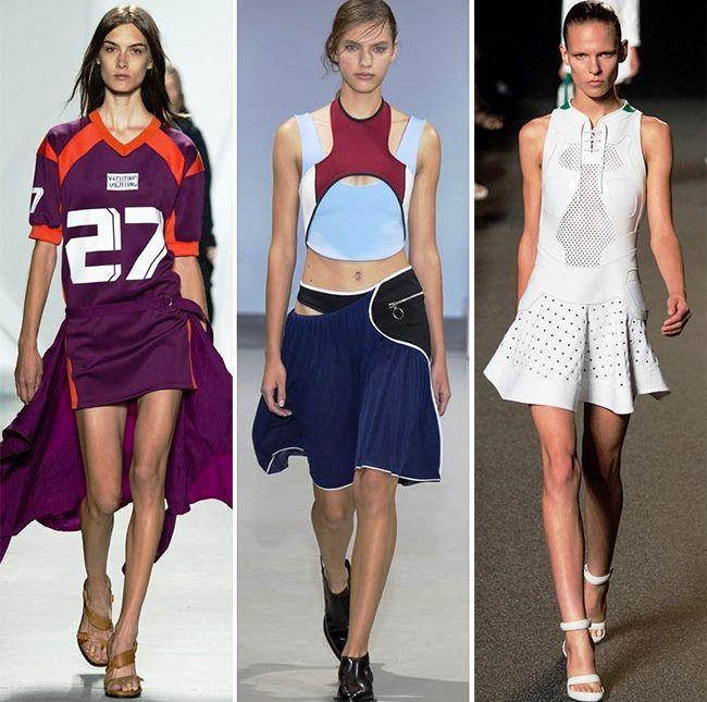 Модные тенденции (тренды) весна / лето 2015: спортивная мода