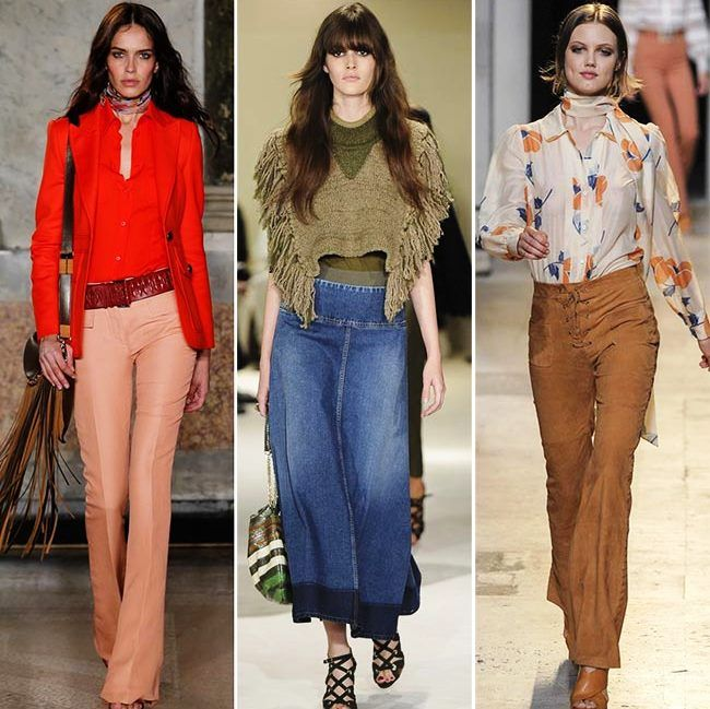 Модные тенденции (тренды) весна / лето 2015: утонченная мода 1970-х