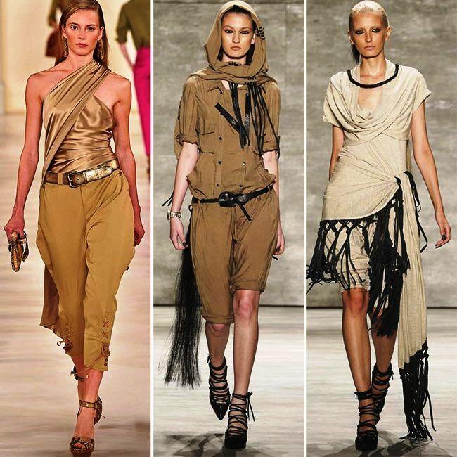 Модные тенденции (тренды) весна / лето 2015: сафари
