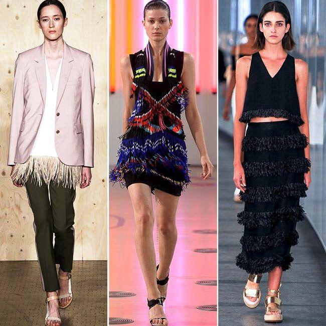 Модные тенденции (тренды) весна / лето 2015: игривые кисточки