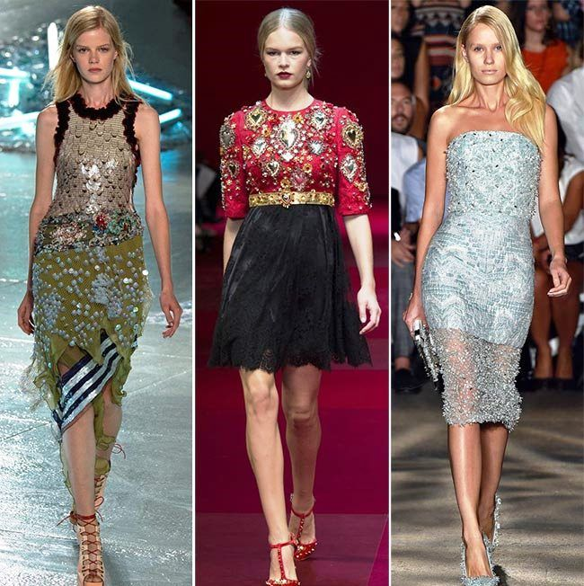 Модные тенденции (тренды) весна / лето 2015: тяжелые украшения