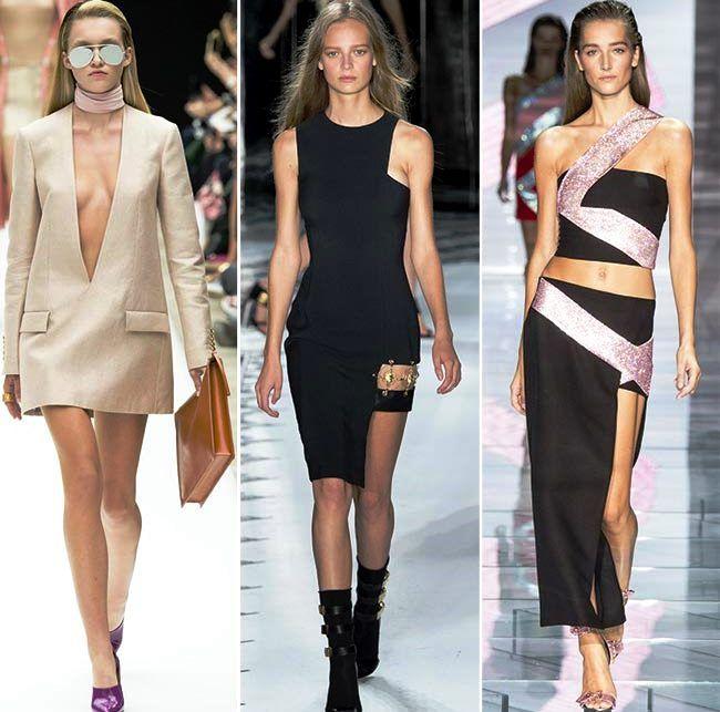 Модные тенденции (тренды) весна / лето 2015: креативные вырезы