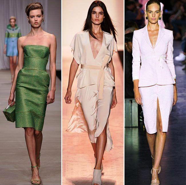 Модные тенденции (тренды) весна / лето 2015: блестящая элегантность и женственность