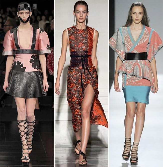 Модные тенденции (тренды) весна / лето 2015: японские мотивы