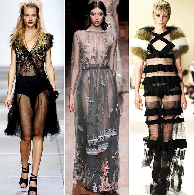 Модные тенденции (тренды) весна / лето 2015: игра прозрачности