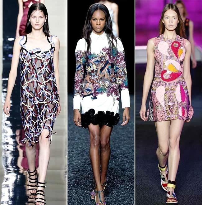 Модные тенденции (тренды) весна / лето 2015: художественная мода