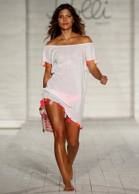 Пляжные платья: принты