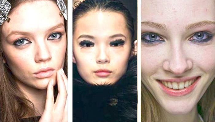 Модный макияж: небрежный стиль