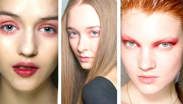 Модный макияж в розовых тонах