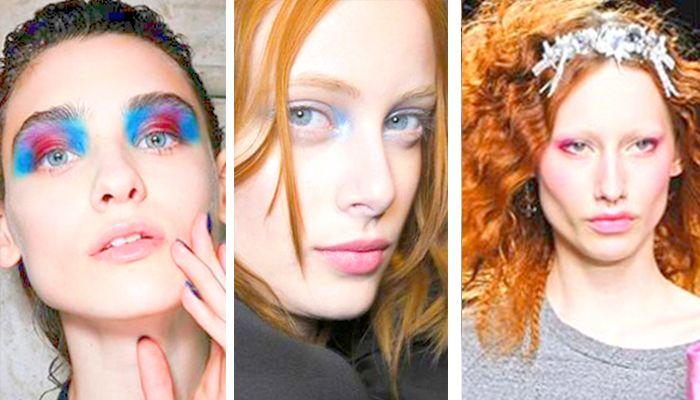 Модный макияж: омбре (амбре)
