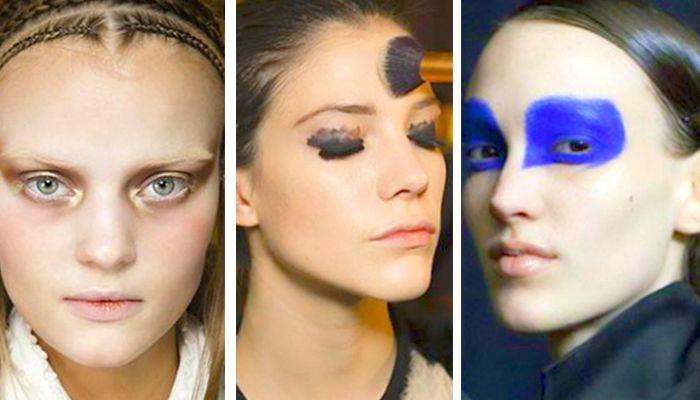 Модный подиумный макияж
