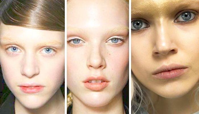 Модный макияж: выразительный брови
