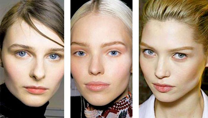 Модный макияж естественный