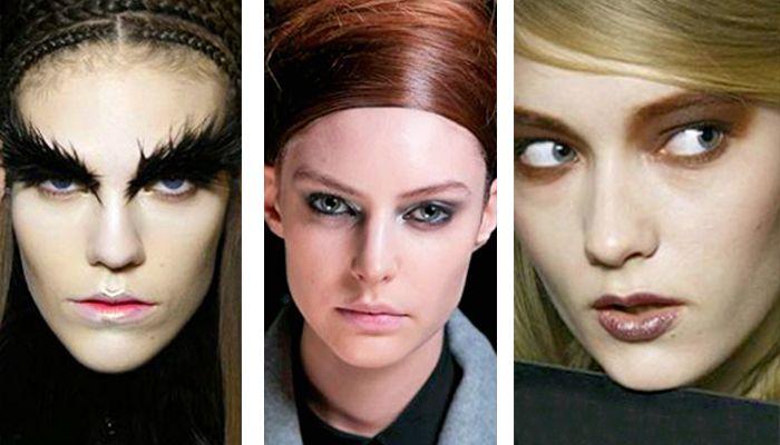 Модный макияж Футуристические и Панк Тенденции