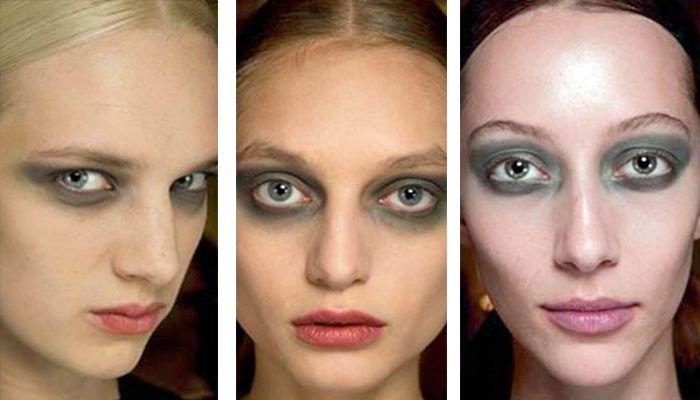 Модный макияж: милитари