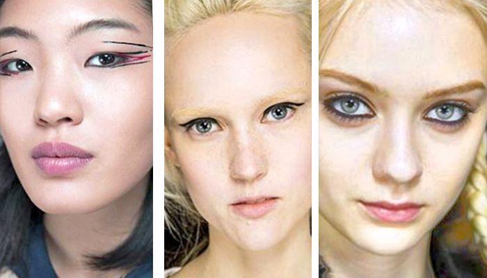 Модный макияж: стрелки