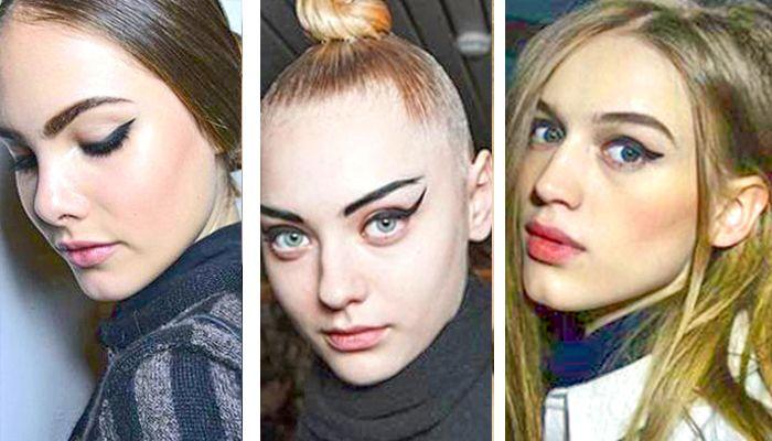 Модный макияж: кошачьи глаза