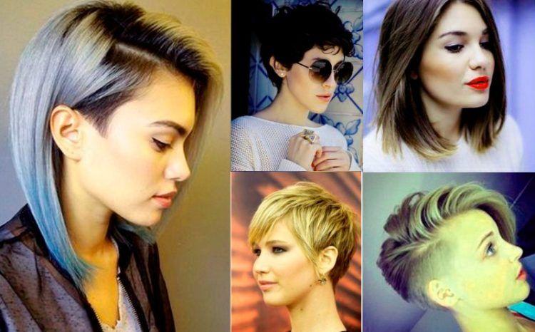 мода на окрашивание волос на короткой стрижке 2016 с фото