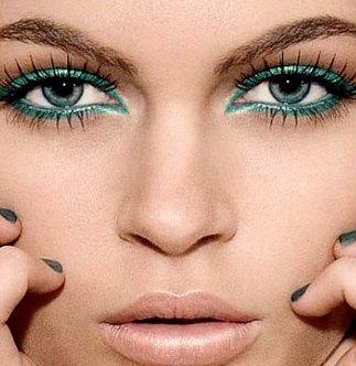 Свадебный макияж для серых глаз