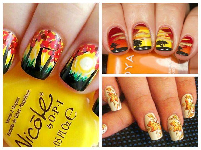 Дизайн ногтей: Художественная роспись