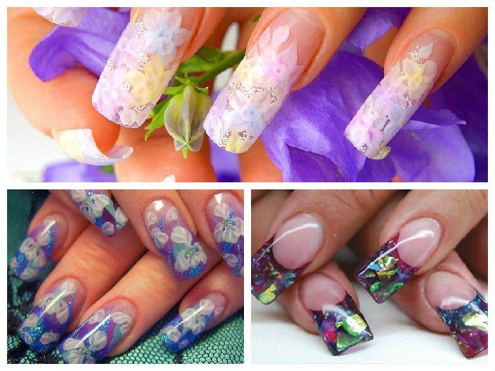 Дизайн ногтей бабочки новинки