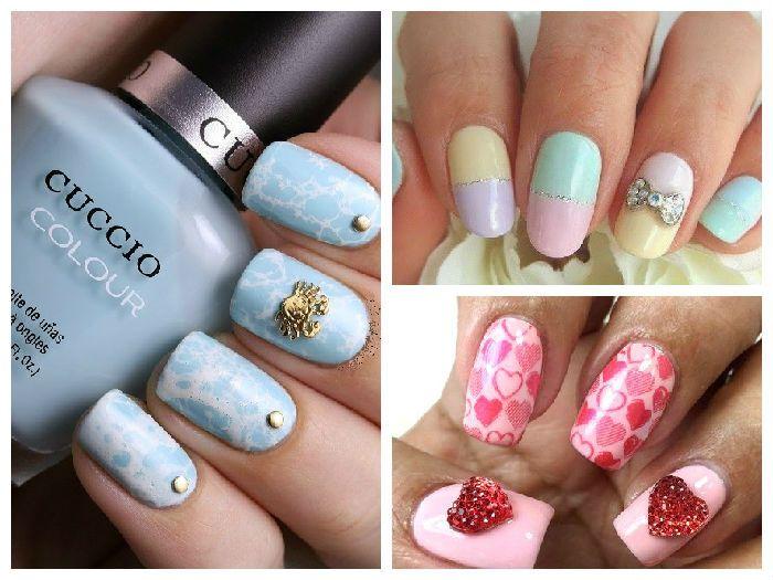 Дизайн для ногтей сухоцветы