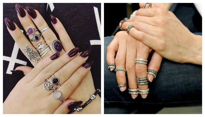 Дизайн с кольцами