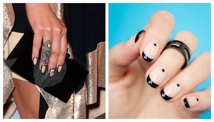 Дизайн ногтей: маникюр с кольцами